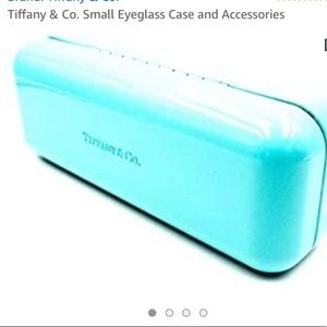 Tiffany & Co. Glasses Case Cleaning Cloths Storage